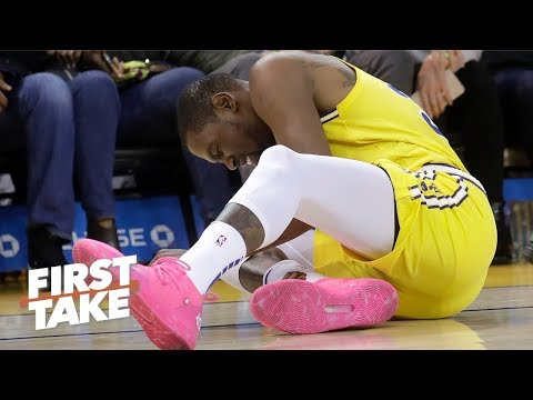 Kevin Durant's injury could fuel the Rockets' chase for the No. 1 seed - Max Kellerman | First Take