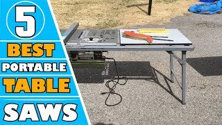 ✅ Saws: 5 Best Cheap Portable Table Saw Reviews In 2019 | Smallest Portable Table Saw (Buying Guide)