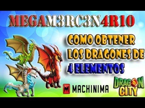 COMO CONSEGUIR LOS DRAGONES DE 4 ELEMENTOS ( santuario )