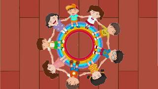 Make A Circle | Preschool Song