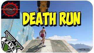 """GTA 5 Online   Death Run """"La Muerte Esta Por Todos Sitios""""   GTA V Desafio DEATH RUN"""