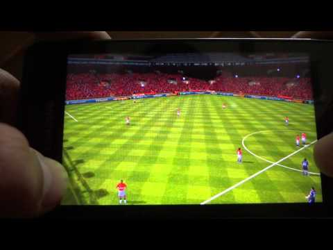 Samsung Galaxy R FIFA 12 gameplay (tegra 2 device)