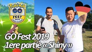 Seb and Ouss in Dortmund : GO Fest 2019 1st part «Shiny» - Pokémon Go (English Sub)