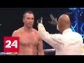 Боксер Кличко был нокаутирован Джошуа в матче-реванше