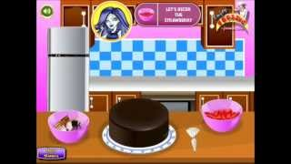 Monster High Cake Cooking Gameplay-Cooking Game-Monster High
