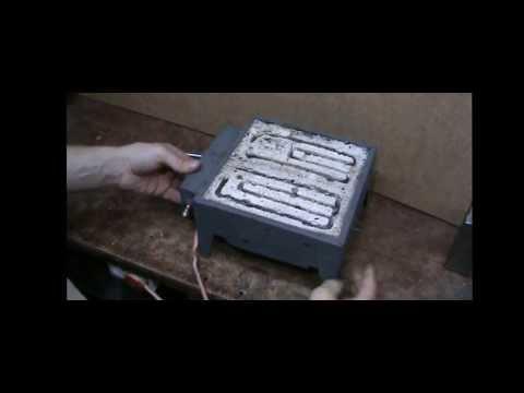 Электро печка своими руками 6