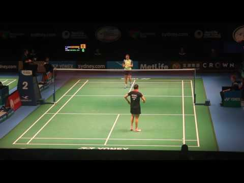 Australian Badminton Open 2016 [WS] - Saina Nehwal vs Joy Lai