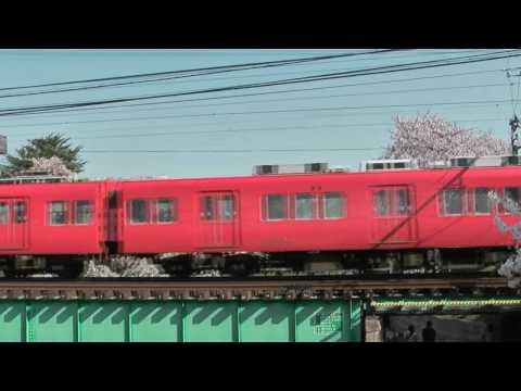 各務原市 「桜と電車」