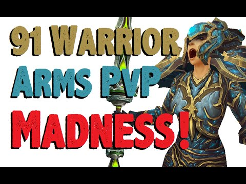 Rahbey - Level 91 Arms Warrior Twink Pvp - Wod Patch 6.1 video