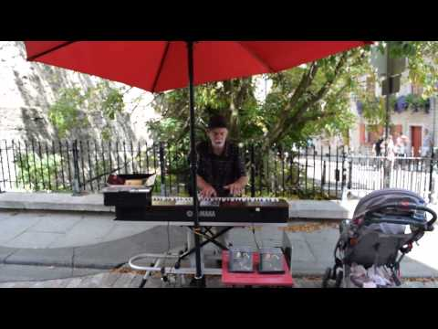 Marc Lavigne CD Allume... Quebec Street Performance Plays Pressure Drop by Toots