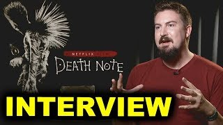 Adam Wingard Interview - Death Note, Godzilla vs Kong