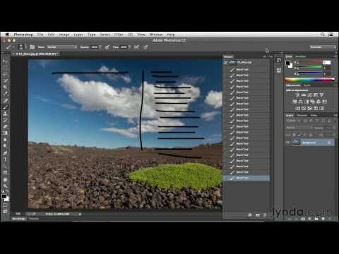 Using Undo and the History panel in Photoshop CC