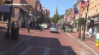 Annapolis, MD - Driving Through Annapolis, MD