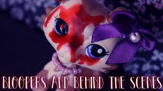 LPS Murder Mansion Bloopers & Behind the Scenes of the Halloween Special | Alice LPS