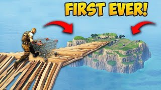 *FIRST EVER* Shopping Cart On Spawn Island! - Fortnite Funny Fails and WTF Moments! #219