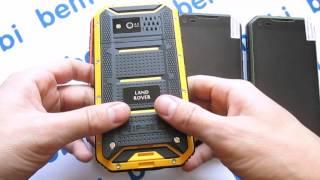 Видео обзор Land Rover S6 (8 ядер и рация) - тест в воде и тест рации