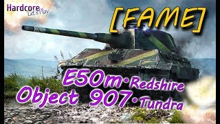 WORLD OF TANKS: [FAME] E-50M is zwakke show & 907 KEBAB om te gaan, WoT