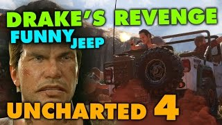 Uncharted 4 - Funny Jeep Bug (Drake