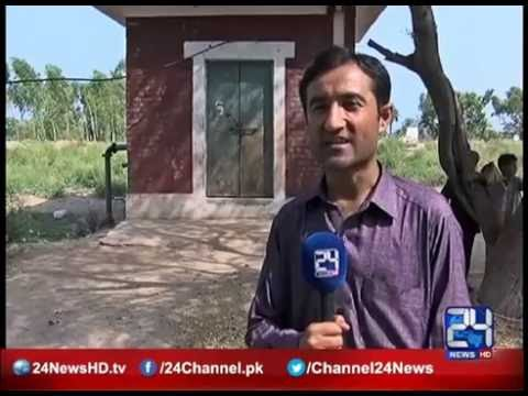 Aftab Mohmand report for 24 News Peshawar , water shortage due to poor management failure