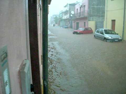 alluvione a capoterra youtube