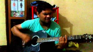 Parbo Na guiter cord's by krish roy.... Borbad