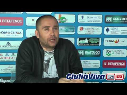 Conferenza stampa Antonio Esposito pres  Giulianova Calcio