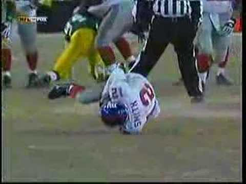 This is a video I made of the Giants/Packers epic fourth quarter (and OT) in the 2007 NFC Championship Game. Hopefully I'll have another one of the Giants winning the SuperBowl.