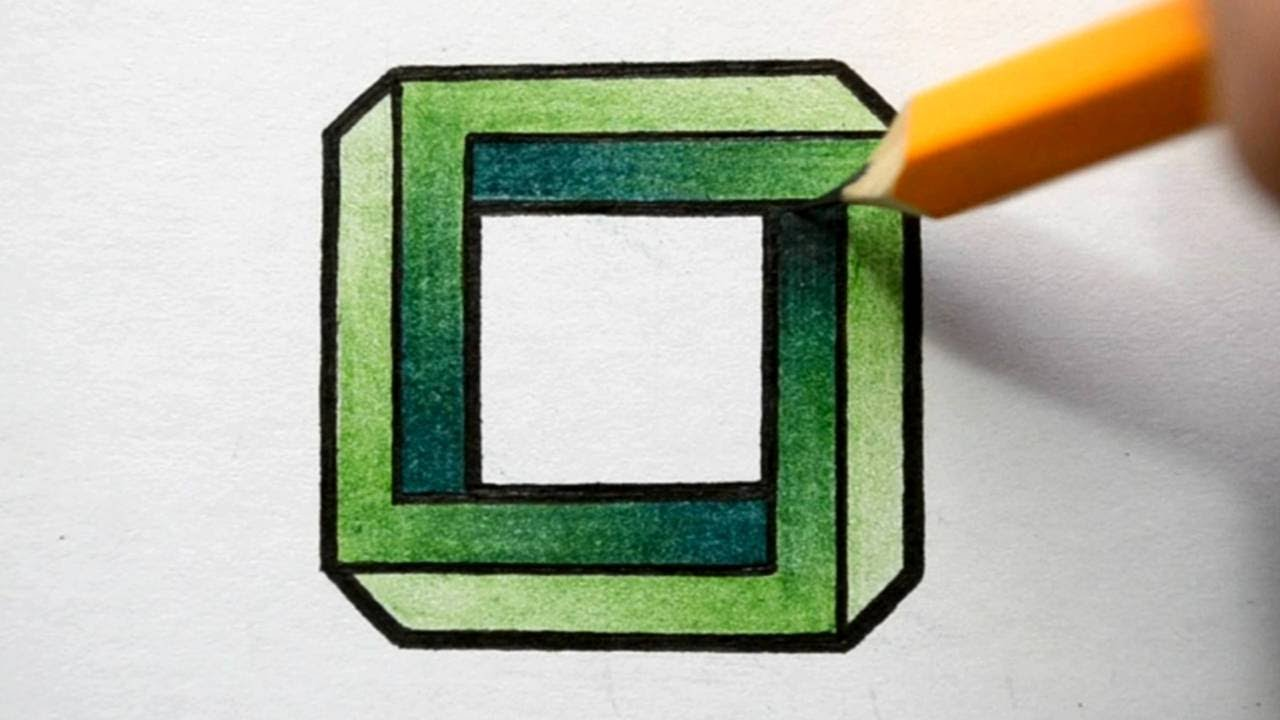 Optical Illusions Square Square - Optical Illusion