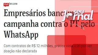 A denúncia de ilegalidade na campanha de Bolsonaro