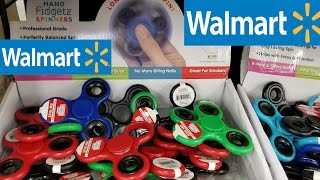 Walmart Fidget Spinner Unboxing, Review, and Durability test.