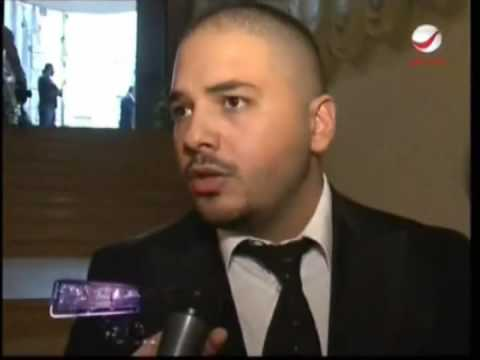Ramy Ayach at Yara Fathers Funeral