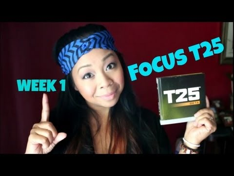 FOCUS T25 Week 1 - EXPERIENCE & RESULTS (re-upload)