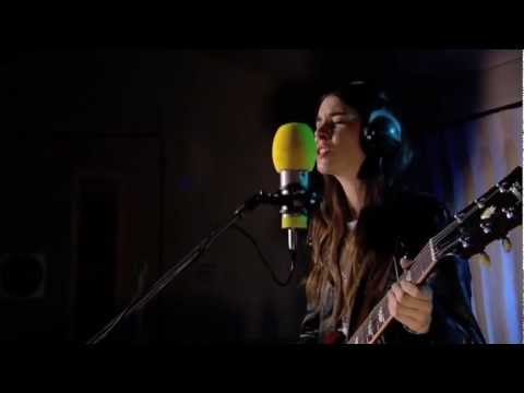 Haim - Don't Save Me in session for Zane Lowe on BBC Radio 1