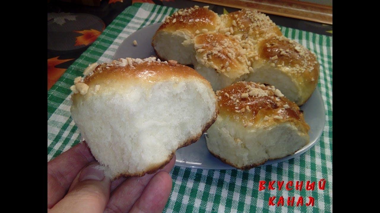 Рецепт простого сдобного теста булочек