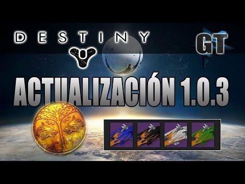 [Destiny] ACTUALIZACIÓN 1.0.3 !! (10 Contratos, Nuevos Shaders, Chat de Voz.. y más!)