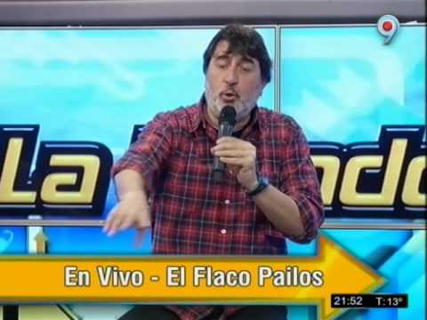 El Flaco Pailos en vivo en el Programa de TV La Topadora