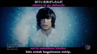 Huwei Ishizaki - Pino To Ameri (Naruto Shippuden Ending 38) {Romaji + Lyric + Sub ENG + Sub INDO}