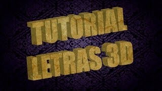 Tutorial 3D Adobe Illustrator: Cómo hacer texto con letras 3d en Illustrator y Photoshop fácilmente