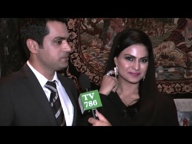 Veena Malik and her husband Asad Khattak's Exclusive Interview for TV786