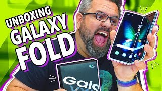 GALAXY FOLD: UNBOXING!