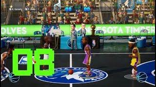 NBA 2K PLAYGROUNDS 2 NBA SEASON GAME 8 LAKERS VS TIMBERWOLVES GAMEPLAY WALKTHROUGH [1080P HD]
