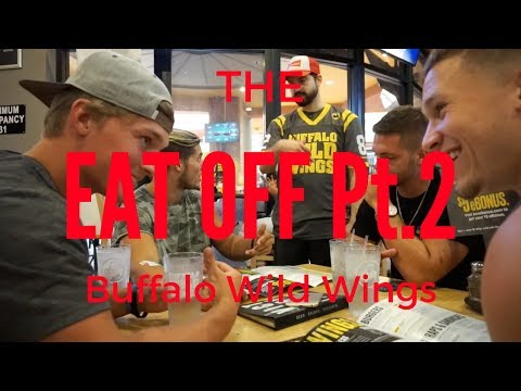 Buffalo Wild Wings Eat Off (200 wing challenge)