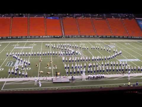 THE EVOLUTION OF JAZZ | 2013 Punahou School Marching Band & Color Guard - Rainbow Invitational
