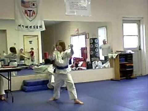 Randy Blue To Brown Belt Test video