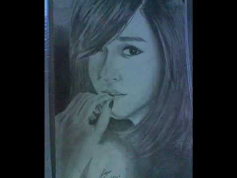 Drawings of 소녀시대 SNSD Black Soshi Concept Video