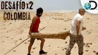 ¿Cómo sobrevivir a un naufragio? | Desafío X2 Colombia | Discovery Latinoamérica
