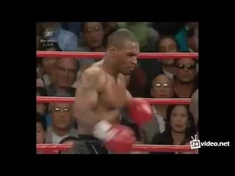 Tyson vs Holyfield ear bite