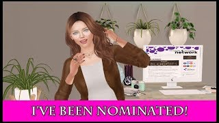 I've Been Nominated!! (Second Life)