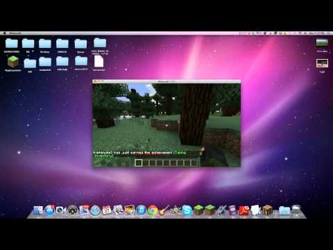 Minecraft:  How To Install TooManyItems Mod  [1.7.4/1.7.5] (Mac)