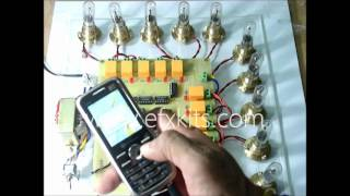 Home Automation using Digital Control without Microcontroller